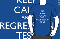 Keep calm and automate regression testing
